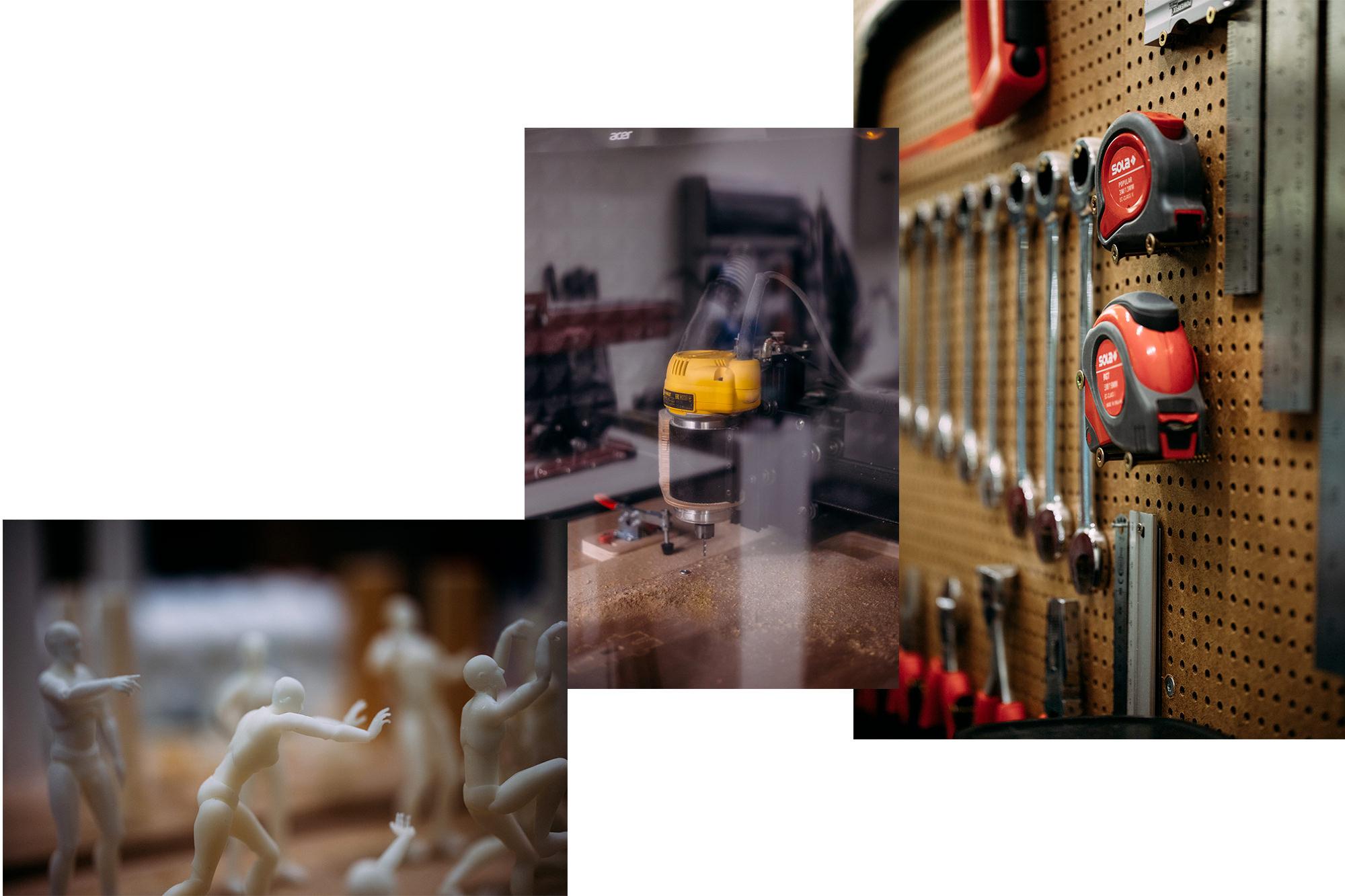 Accalmie Studio rencontre les Walpix dans leur atelier pour un reportage photo