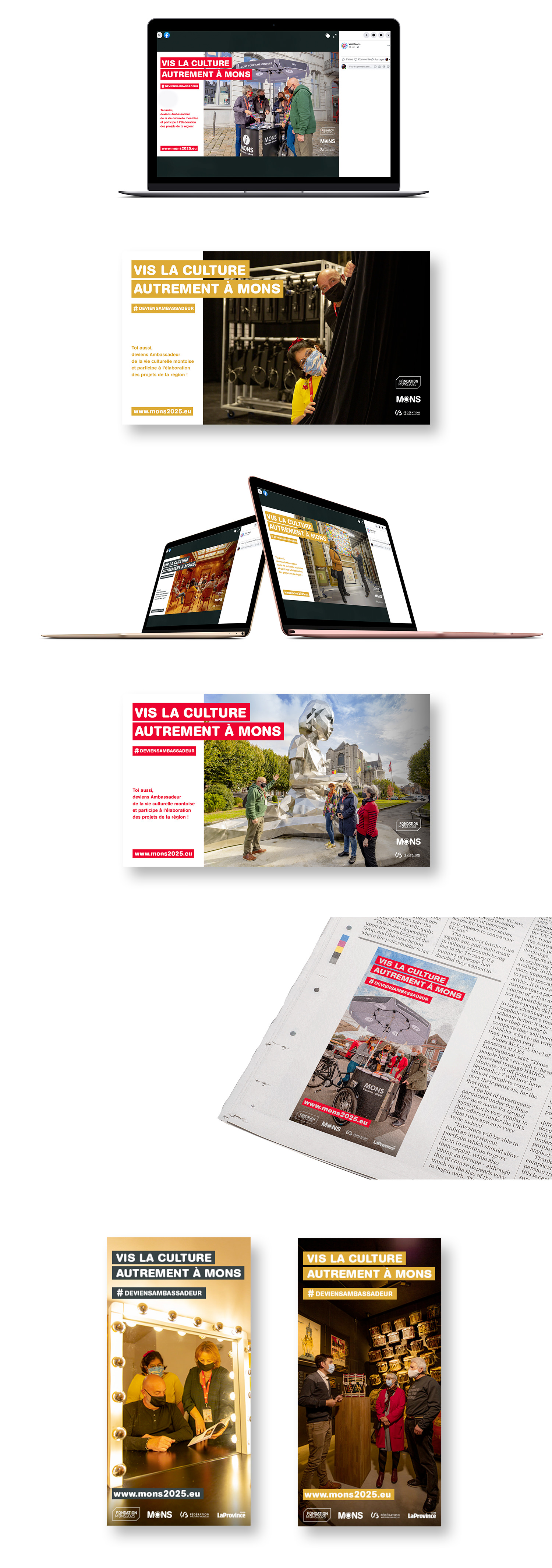 Campagne Ambassadeurs – Fondation Mons 2025